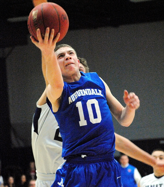 Auburndale's Blake Anderson was named the 2013-14 Marawood Conference South Division Boys Basketball Player of the Year. (Photo by Paul Lecker/MarshfieldAreaSports.com)