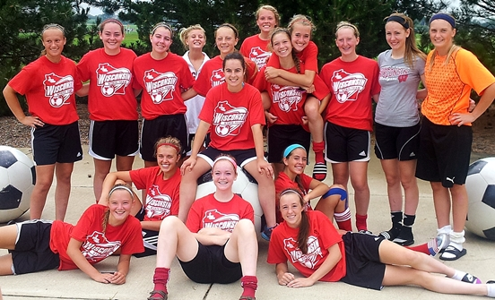 Marshfield's Julia Urban played for the Wisconsin girls soccer team at the recent Region II Olympic Development Showcase in Rockford, Ill. (Photo submitted)