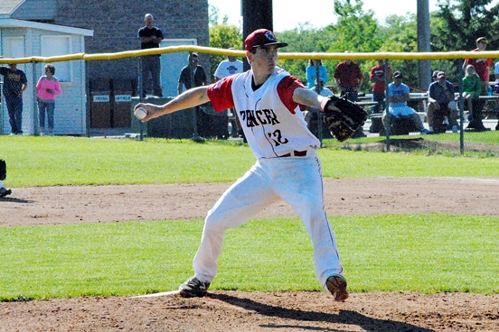 Spencer senior Mitch Susa was an honorable mention all-state selection by the Wisconsin Baseball Coaches Association. (Photo by Paul Lecker/MarshfieldAreaSports.com)