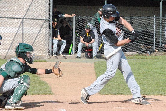 Marshfield shortstop Trevor Schwecke was one of two Tigers named first-team on the 2016 All-Wisconsin Valley Conference Baseball Team. (Photo by Paul Lecker/MarshfieldAreaSports.com)