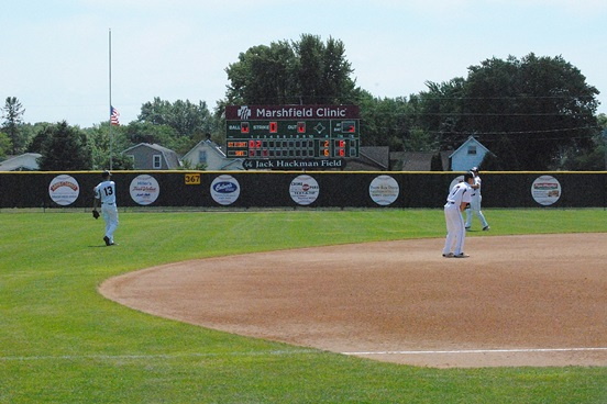 Jack Hackman Field in Marshfield will be the home to the 2016 Wisconsin Class AAA American Legion Baseball State Tournament this week. Play begins Tuesday at 9:30 a.m. and will end with the championship round on Saturday. (Photo by Paul Lecker/MarshfieldAreaSports.com)