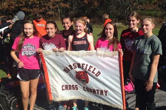 The Marshfield girls cross country team competed at the WIAA Division 1 sectional Saturday at Standing Rock Park in Stevens Point. (Submitted photo)